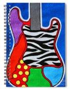 It's Electric Acrylic By Diana Sainz Spiral Notebook