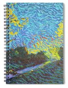 It's Just Over The Hill Spiral Notebook