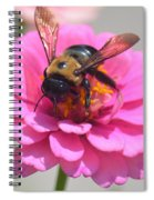 It's Mine Said The Bee Spiral Notebook