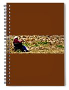A View Of Life At Sunset Spiral Notebook