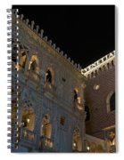 It's Not Venice - The Famous Venetian Las Vegas At Night Spiral Notebook