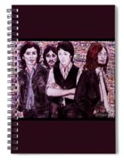 It's Only A Northern Song Bordered Spiral Notebook