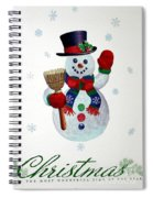 It's The Most Wonderful Time Of The Year Spiral Notebook