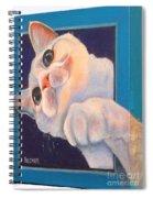 Ive Been Framed Side View Spiral Notebook