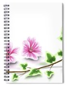 Ivy And Mallow Spiral Notebook