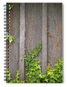 Ivy Wall Frame Spiral Notebook