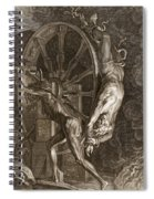Ixion In Tartarus On The Wheel, 1731 Spiral Notebook