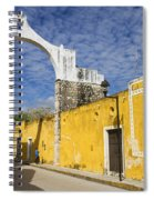 Izamal And It's Famous Arch Spiral Notebook