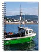 J B P Leaving The Harbour Spiral Notebook
