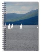 J Boats Lake George N Y Spiral Notebook