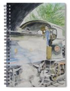 J15 564 Leaving Sheringham Spiral Notebook