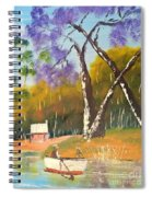 Jacaranda Tree Spiral Notebook