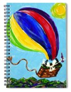 Jack And Charlie Fly Away Spiral Notebook