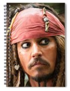 Jack Sparrow Spiral Notebook