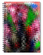 Jacks And Marbles Abstract Spiral Notebook