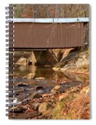 Jacks Creek Bridge Over Smith River Spiral Notebook