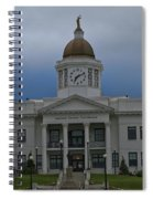 Jackson County Courthouse North Carolina Spiral Notebook