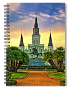Jackson Square Evening - Paint Spiral Notebook