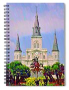 Jackson Square In The French Quarter Spiral Notebook