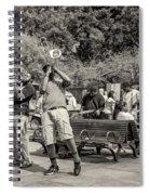 Jackson Square Jazz Sepia Spiral Notebook