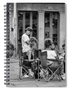 Jackson Square Reading 2 Bw Spiral Notebook