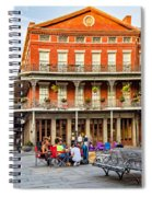 Jackson Square Reading Spiral Notebook