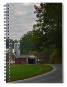 Jackson's Sawmill Covered Bridge Spiral Notebook