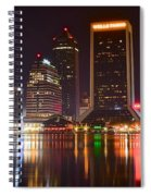 Jacksonville Aglow Spiral Notebook