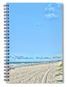 Jacksonville Fl Beach Spiral Notebook