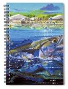 Jacksonville Kingfish Off0088 Spiral Notebook