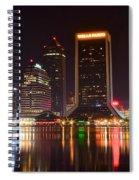 Jacksonville Night Spiral Notebook