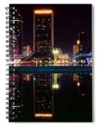 Jacksonville Panoramic Spiral Notebook