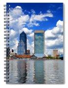 Jacksonville Skyline Spiral Notebook