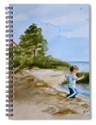 Jacob At East Point  Spiral Notebook