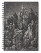 Jacob Goeth Into Egypt Spiral Notebook