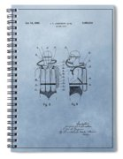 Jacques Cousteau Diving Suit Patent Spiral Notebook