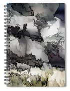Jagged And Flowing Spiral Notebook