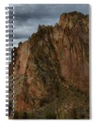 Jagged Peaks At Smith Rock Spiral Notebook