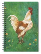 Jagger The Rooster Spiral Notebook