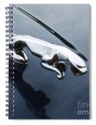 Jaguar Hood Ornament Spiral Notebook