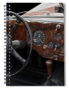 Jaguar Odtimer Steering Wheel Spiral Notebook