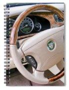 Jaguar S Type Interior Spiral Notebook