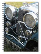 Jaguar Ss100 Spiral Notebook
