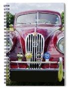 Jaguar Xk140 Spiral Notebook