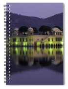 Jai Mahal Water Palace Spiral Notebook