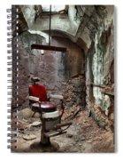 Jail Cell Barber Spiral Notebook