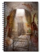 Jail - Eastern State Penitentiary - 50 Years To Life Spiral Notebook