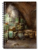 Jail - Eastern State Penitentiary - Cabinet Members  Spiral Notebook