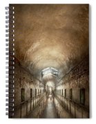 Jail - Eastern State Penitentiary - End Of A Journey Spiral Notebook