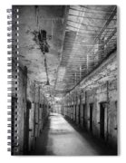 Jail - Eastern State Penitentiary - The Forgotten Ones  Spiral Notebook